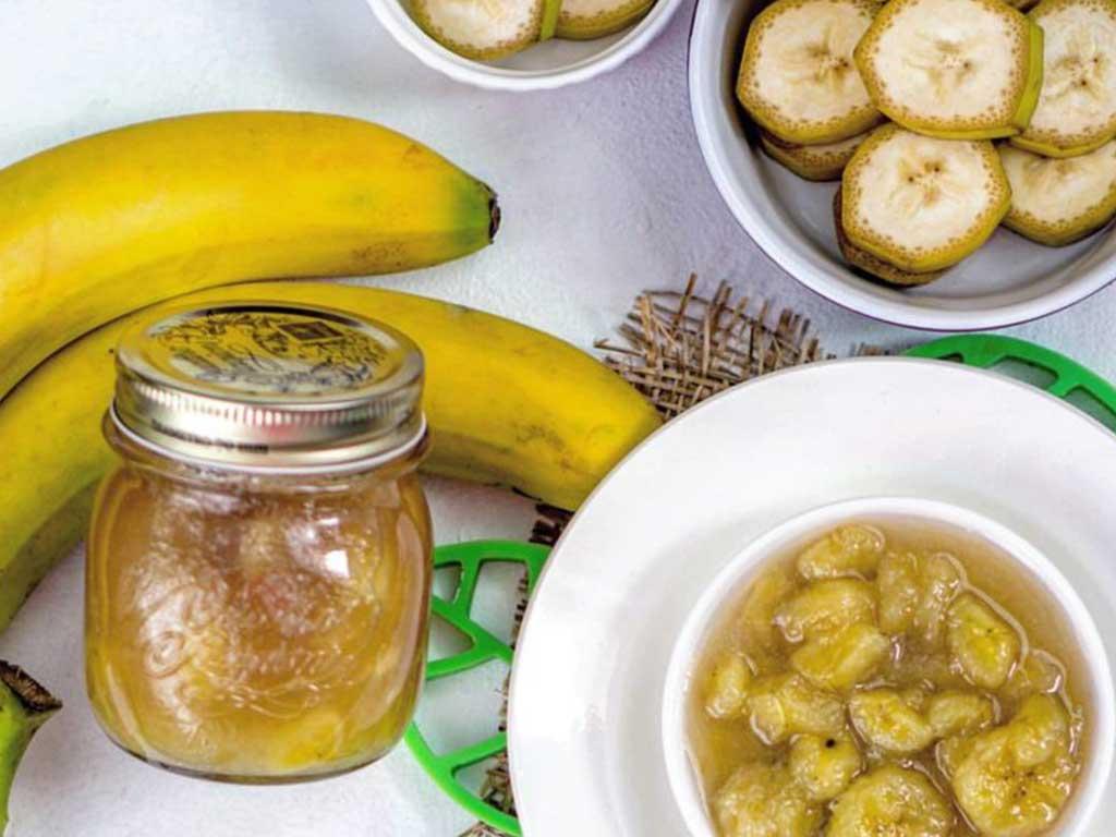 Рецепт домашнего бананового варенья