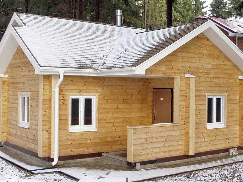 Дачный дом под ключ-максимум удобства для вас