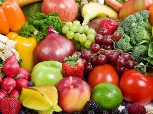 Фрукты и овощи полезные в зимний период