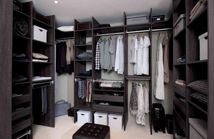 Изготовление гардеробных