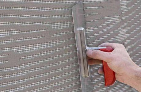 Что такое фасадная сетка под штукатурку?