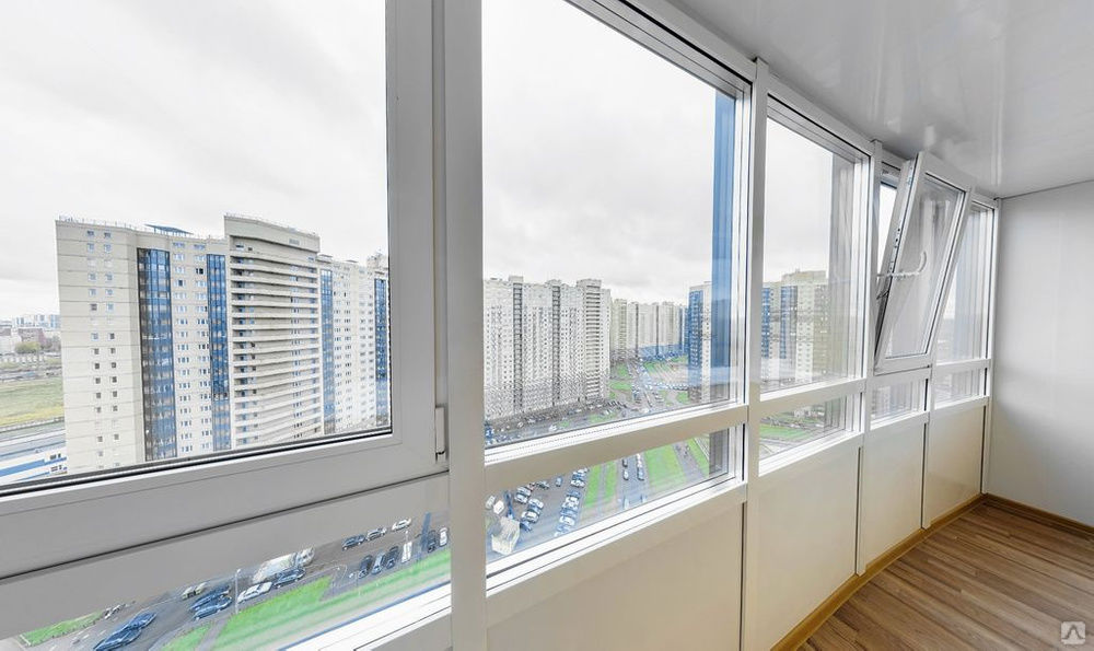 Остекление балконов в Перми