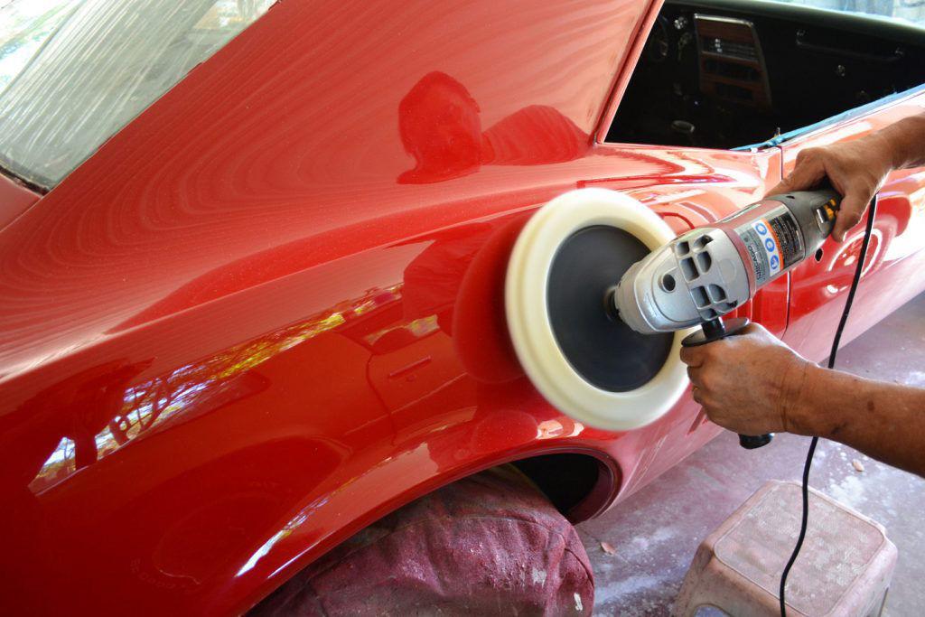 Шлифовка и полировка автомобиля после покраски