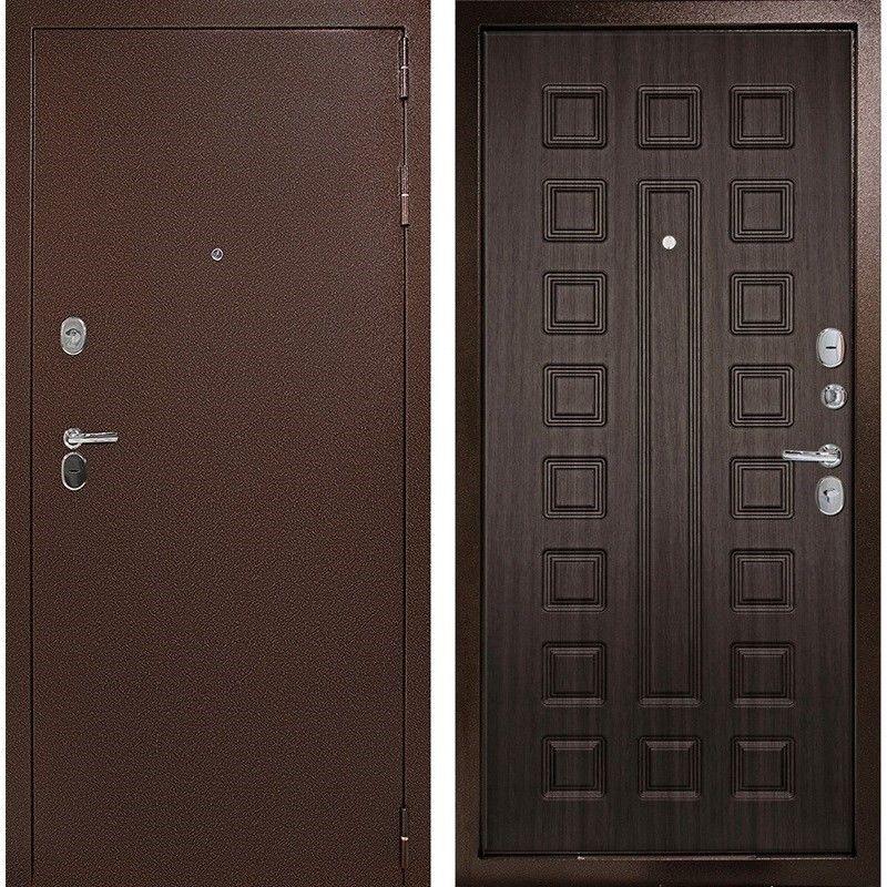 Преимущества входных металлических дверей