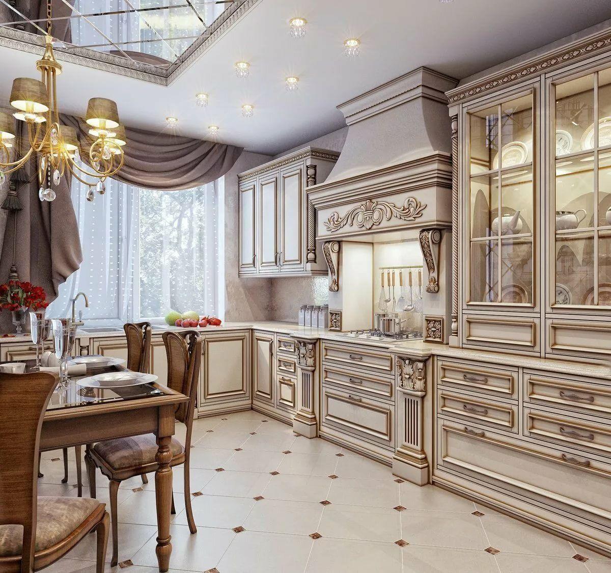 Купить классическую кухню