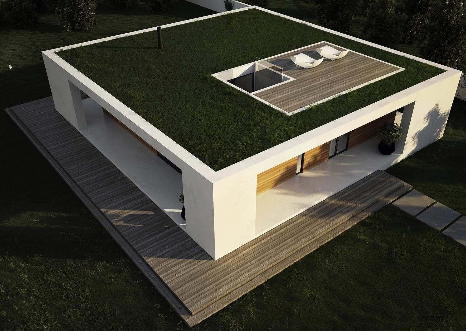 Стоит ли строить дом с плоской крышей?
