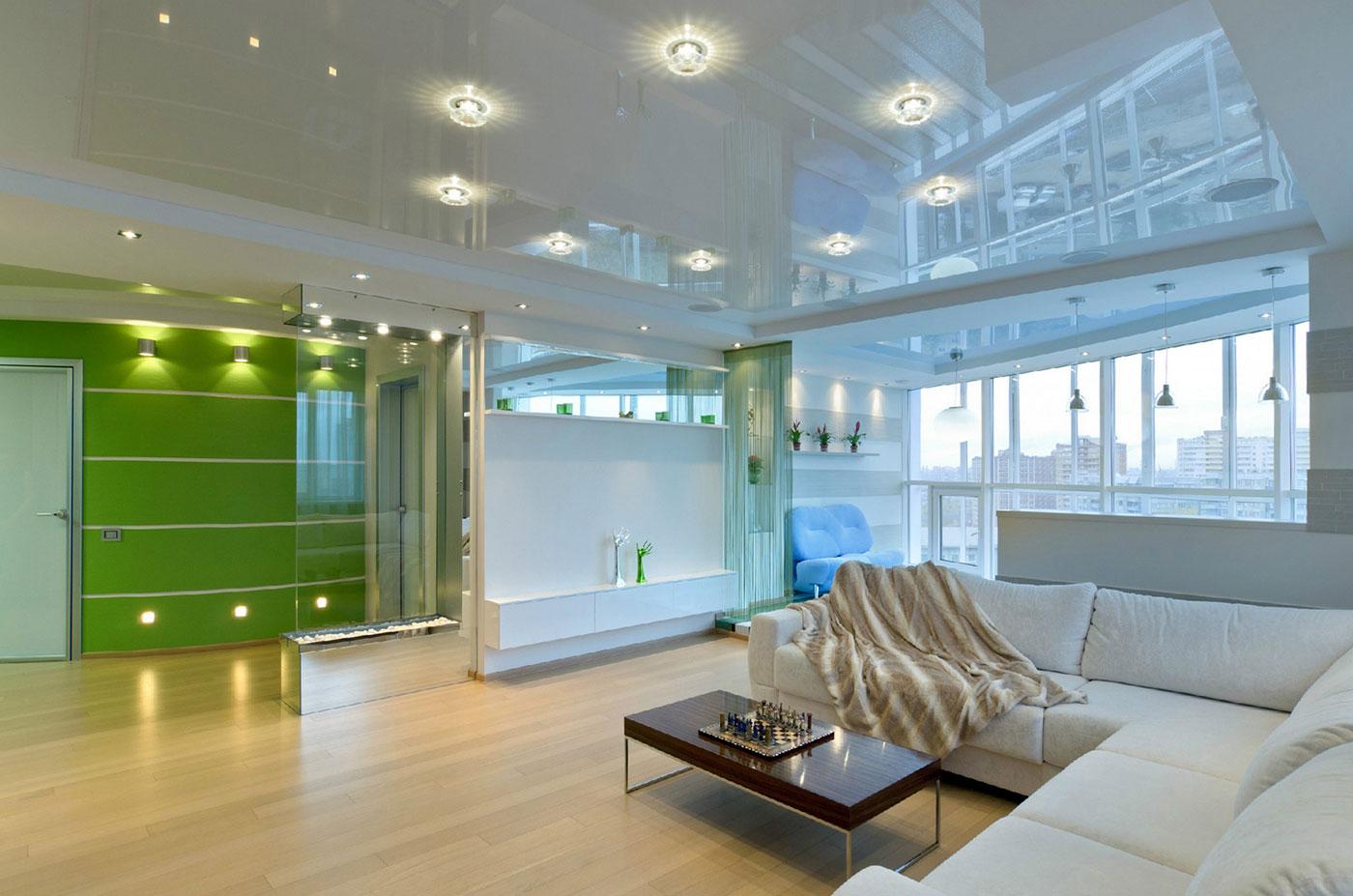 Натяжные потолки - лучшее решение для большинства помещений