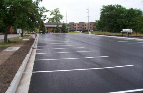 Асфальтирование парковки