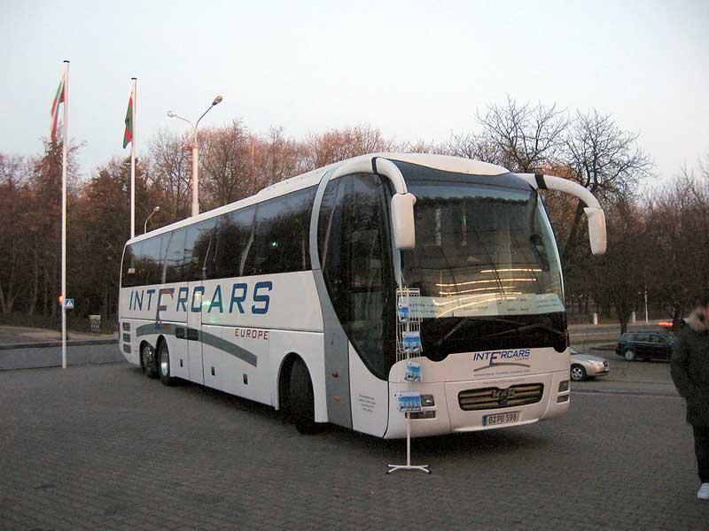 Автобус из Москвы в Минск