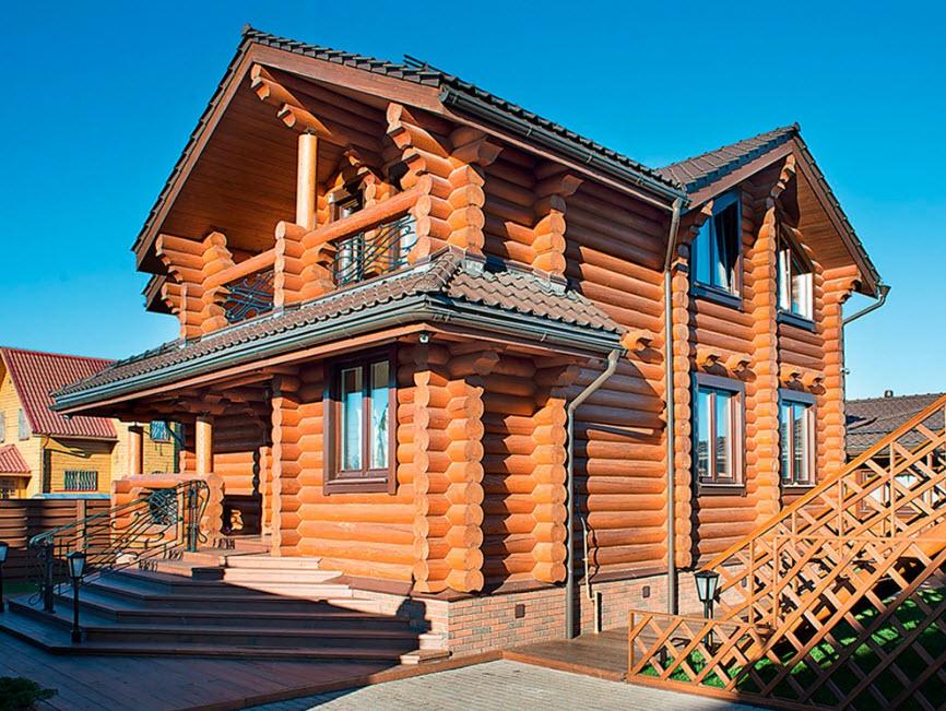 Кто строит дома из оцилиндрованного бревна на юге России?