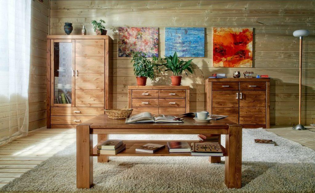 Преимущества деревянной мебели в доме