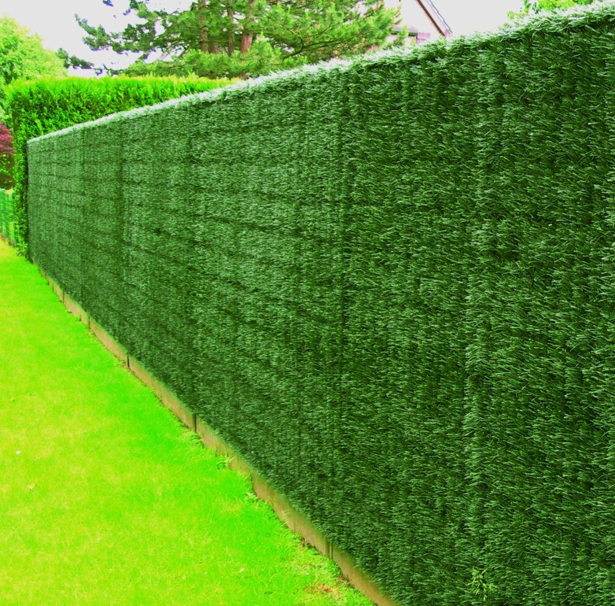 Для чего нужен зеленый забор?