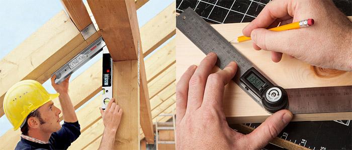 Как измерить углы в строительстве?