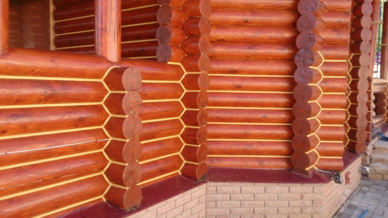 Методы герметизации деревянных стен